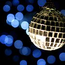 Christmas Disco Christmas Card by redcow