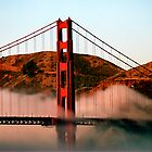 The Bridge and Marin Headlands by Bob Wall