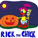 "Rick the chick ""HALLOWEEN"" by CLAUDIO COSTA"