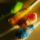 Colored Q-Tips by Michael Rubin