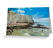 Seaford Cliffs Greeting Card