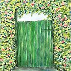 Green Door by Caroline  Lembke