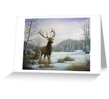 Mountain Monarch Greeting Card