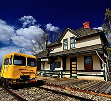 Rowley Train Depot by Ken Yuel