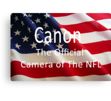 King of The NFL Canvas Print
