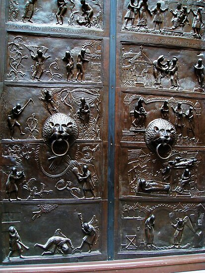 London, Victoria and Albert Museum, a Door by Igor Pozdnyakov