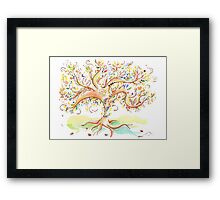 Tree of life / An animation for the Fanconi Anemia Research Fund  Framed Print