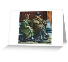 The Sharing of Memories Greeting Card