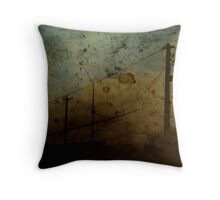 The Skies Grew Darker (It Made Our Hearts Seem Lighter) Throw Pillow