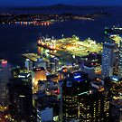 Sky Tower View - Auckland NZ by Bill Fonseca
