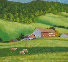 Austrian Farm House by Doris Currier