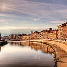 River Arno - Pisa by NeilAlderney