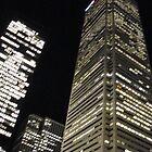 Toronto at Night by paulineca