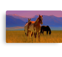 Paint Me Fearless  Canvas Print