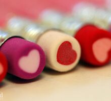 heart pencils by jaki good