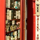 The Wee Whisky Shop by roll6pics