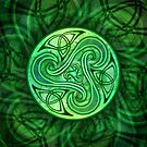 Celtic Triskele by foxvox