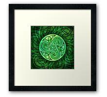 Celtic Triskele Framed Print