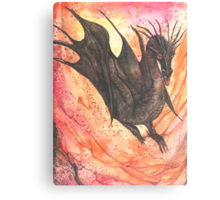 Black Dragon Canvas Print