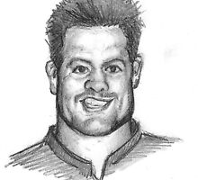 Richie McCaw - Caricature by Alleycatsgarden