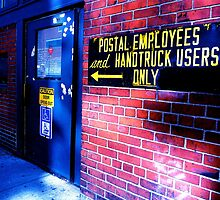Postal Employees by iwasoutwalking