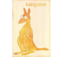 Roo Photographic Print