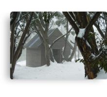 The Cozy Cottage Canvas Print