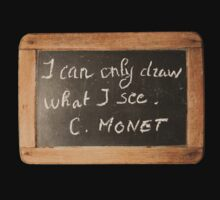 Monet's Quote by Pascale Baud