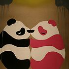 Pandas in Love by Jordan Ching