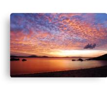 Grays Bay Sunset Canvas Print