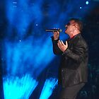 U2 Bono in Las Vegas by Ron Hannah