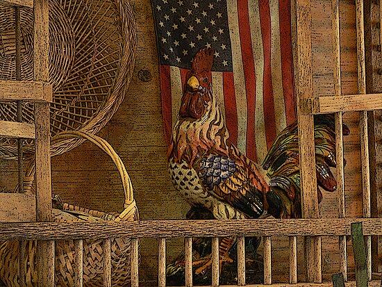 """Vintage Americana"" by franticflagwave"