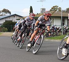 Cyclists Racing, Tour of Geelong by Emma Delladio