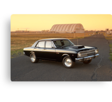Black Ford XR Falcon Canvas Print