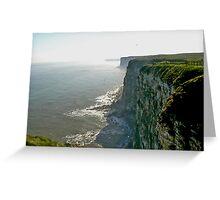 Bempton Cliffs Greeting Card