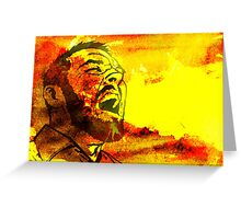 Fire Breather Greeting Card