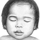 Asian Baby by Nicole Zeug