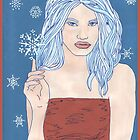 Snowqueen by redqueenself