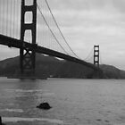 Golden Gate Bridge, California by Jamie F