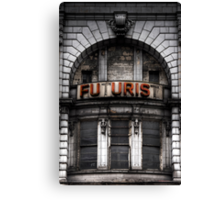 The Future is Now, Forget the Past, Liverpool Canvas Print