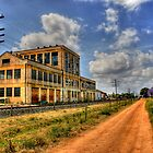 Old peters ice cream factory by Christopher R Pitts
