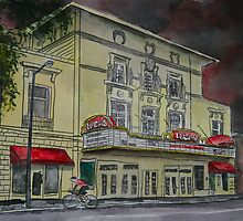 Lucas Theatre Savannah GA Art by derekmccrea