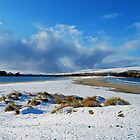 St Ninian's Isle in the Snow by ShroomIllusions