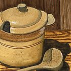 Ceramic Stone Soup Serving Set by bernzweig