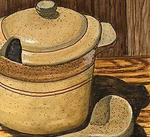 Ceramic Stone Soup Serving Set by bernzweig