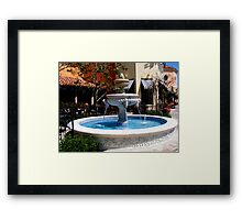 The Fountain (Please Read Poem) Framed Print