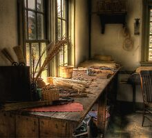 THE OLD WORK TABLE by Diane Peresie