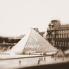 That Pyramid...Paris, France by joybliss