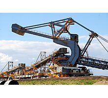 Coal Stacker/Reclaimer - Kooragang Island, Newcastle NSW Photographic Print