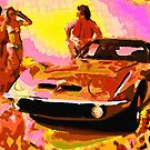 Opel GT Pool Party by David Rozansky